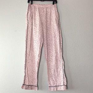 Victoria's Secret long cotton pajama pants bottoms